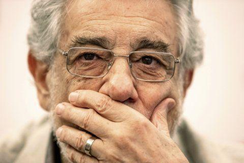 The Latest: 2 Spanish sopranos praise Placido Domingo