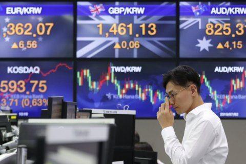 Global shares decline as trade war worries worsen