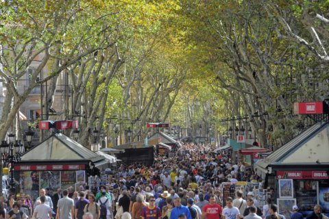 Tourist hotspot Barcelona sees a spike in muggings