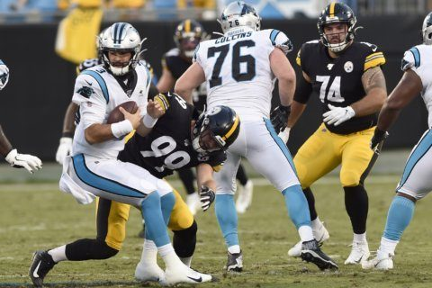 QBs Rudolph, Allen impress; Panthers defeat Steelers 25-19