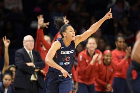 Mystics use 29-8 4th quarter to beat Storm 88-59