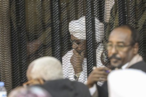Corruption trial for Sudan's ex-president adjourns