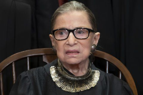 After cancer treatment, Ginsburg in NY for honorary degree