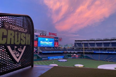 Your chance to hit golf balls at Nationals Park, this weekend only