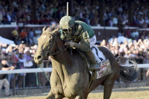 Code of Honor wins Travers Stakes