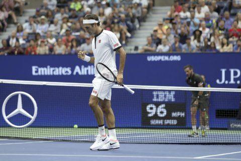 US Open Glance: Federer seeks better start in third round