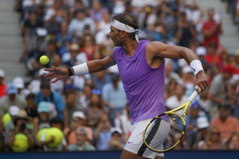 Nadal not sure if light first week helps or hurts at US Open