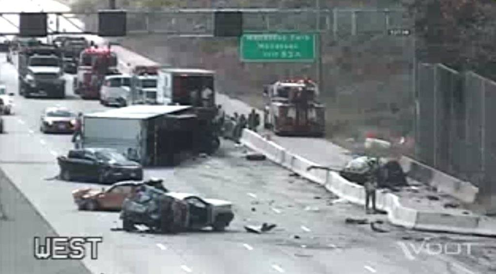 Westlake Legal Group VDOT_I-66_Fatal-1024x566 2 drivers charged in Saturday's fatal I-66 crash as investigation continues virginia news Local News I-66 crash i-66 Fairfax County, VA News crash