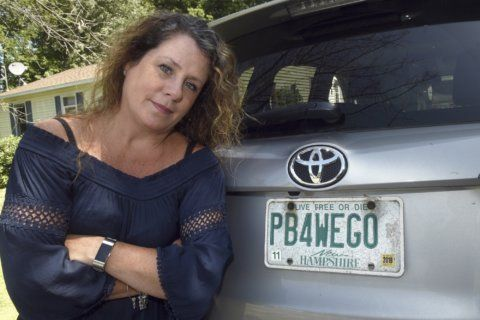 Governor steps in to help woman keep 'PB4WEGO' vanity plate