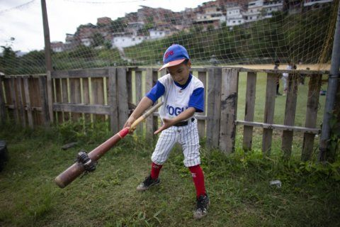 In Venezuela, young baseball players still have big dreams