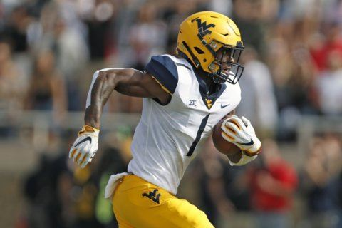 T.J. Simmons hoping to join list of impact WVU receivers