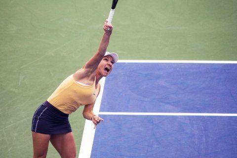 No. 4 Simona Halep rallies to avoid upset in Ohio