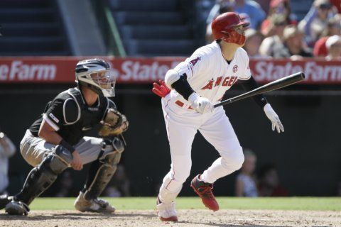 Ohtani, 3 other Angels homer in 9-2 win over White Sox