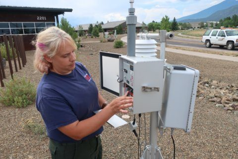 Growing program puts air quality specialists on wildfires