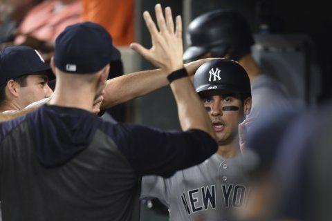 Yankees set MLB record with 32 HRs at Camden Yards