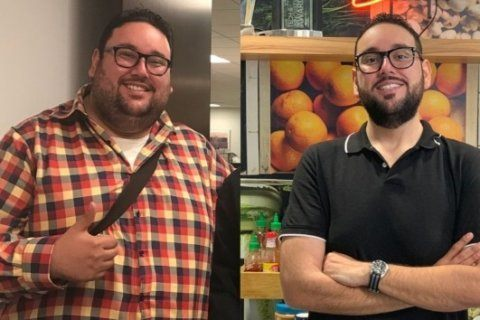 Man credits job as Instacart shopper with helping him lose nearly 300 pounds