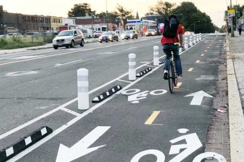 After fatal crashes, interim Florida Avenue NE bike safety improvements put in place