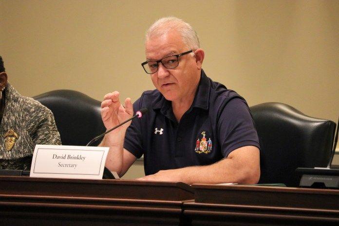 Maryland Budget Secretary David R. Brinkley