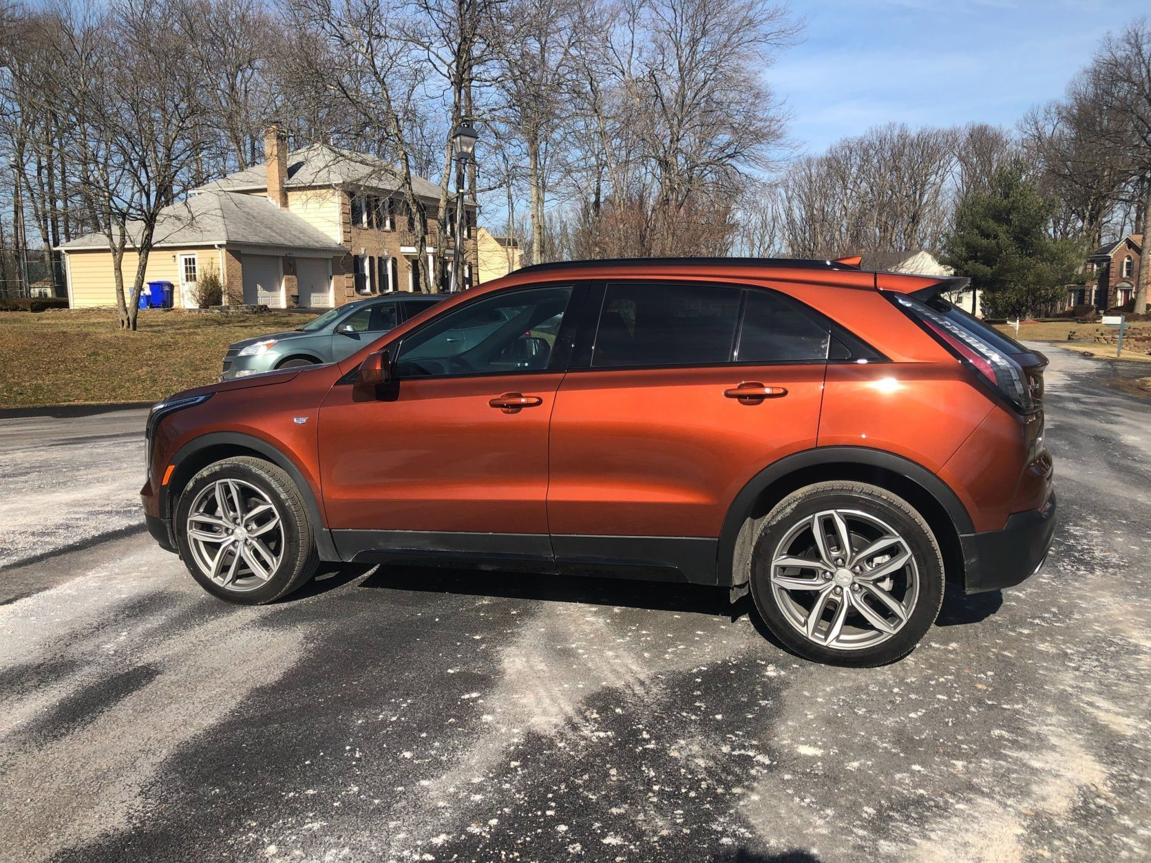 <p>Bigger 20-inch wheels are part of the Sport Dynamic package. Usually, I would frown upon the bigger wheels, but they look good on the XT4 and the suspension is also upgraded to better cope.</p> <p>Driving the Cadillac XT4 Sport proves it is the most refined of the XT4 model range. Much of that has to do with the optional Active Sport Suspension that helps keep the small crossover a smooth operator under most road conditions.</p> <p>But the suspension can get a bit busy on poor road surfaces transmitting into the cabin. I found the handling solid and happier as a normal crossover. It feels a bit heavy when pushed in the turns. The 2.0L four-cylinder turbo is the only engine and it moves the XT4 well.</p>