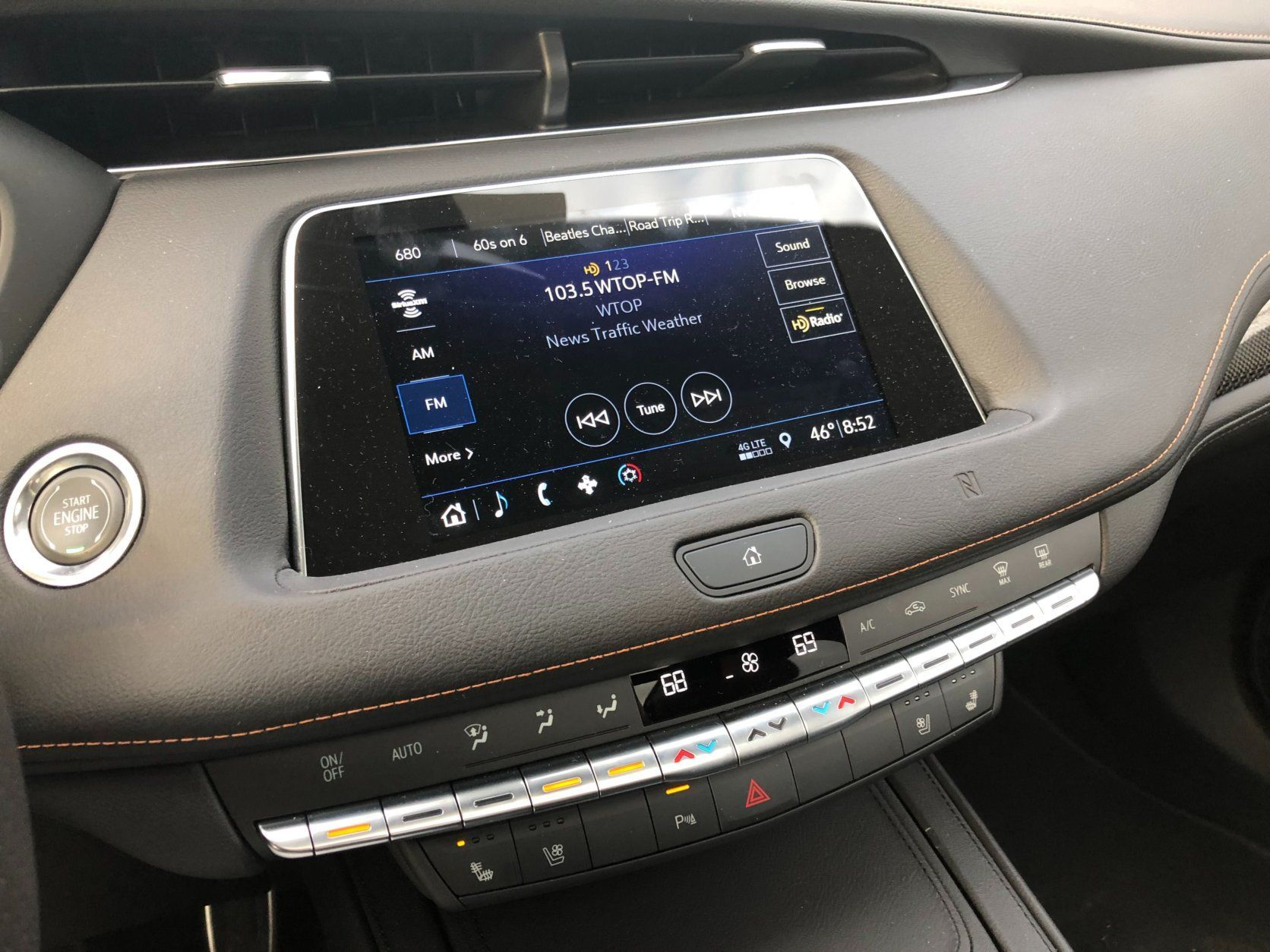 <p>A pleasant surprise is the eight-inch touchscreen that's easy to use and very responsive. While the knobs aren't back near the screen, there is volume and tuning on the center console, which is a huge win for easy operation.</p> <p>The sound from the Bose system is excellent for this class and sounds good turned up or at normal level.</p> <p>The smallest Cadillac crossover could have the biggest impact for the luxury brand. With its standout looks, luxury interior and a price that's obtainable by more people, we might just see more Cadillacs on the streets.</p>