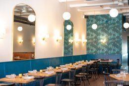Thompson Italian's dining room