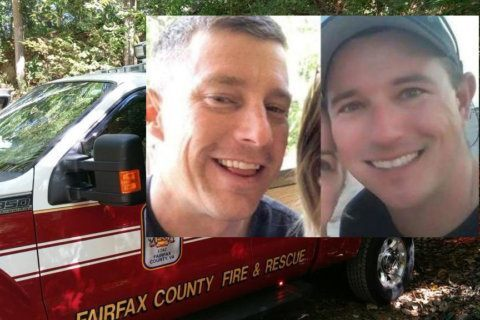 Tackle bag found; Search for Fairfax Co. firefighter and Fla. firefighter continues