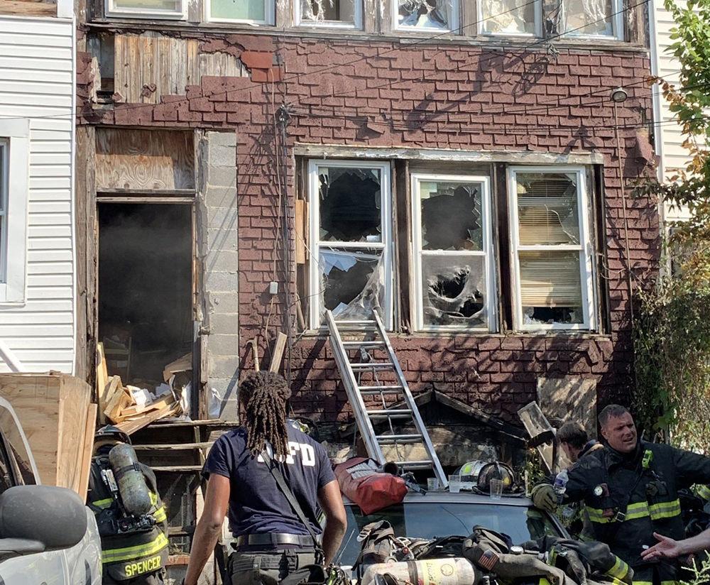 fire damage in 700 block of Kennedy Street Northwest