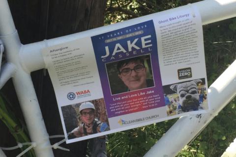 Keepsakes missing from Bethesda ghost bike memorial honoring teen