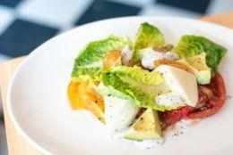 The heirloom salad at Thompson Italian
