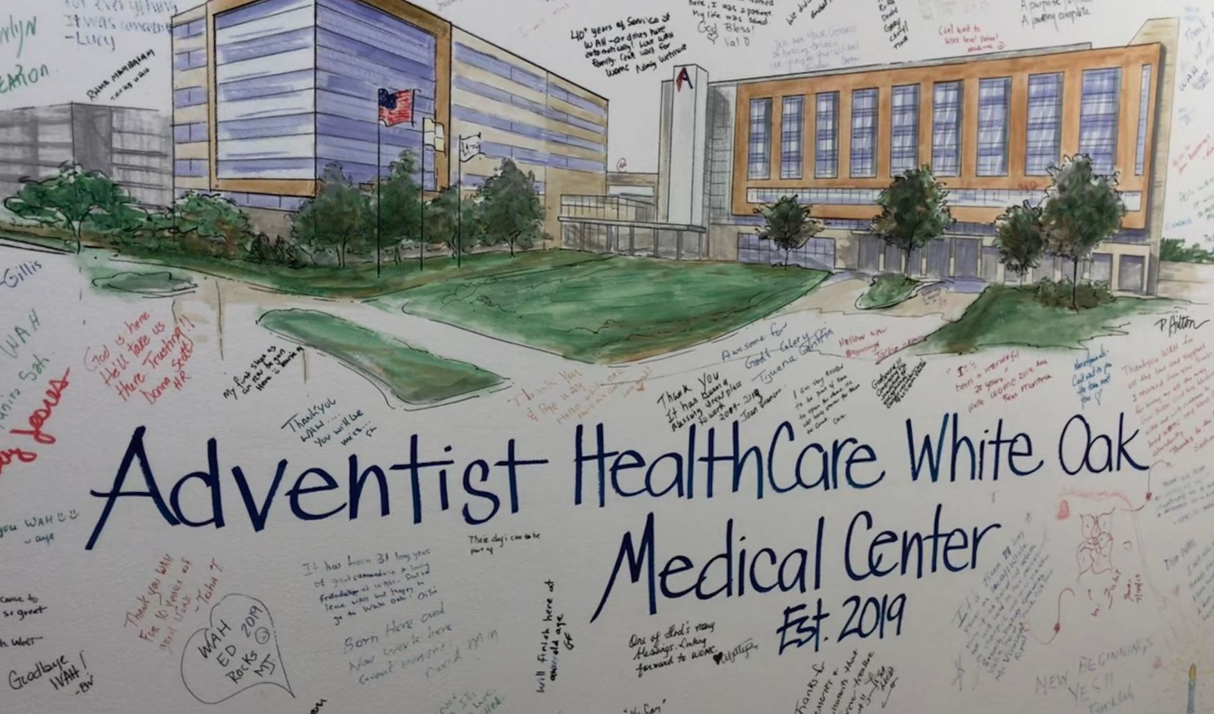 Washington adventist hospital move