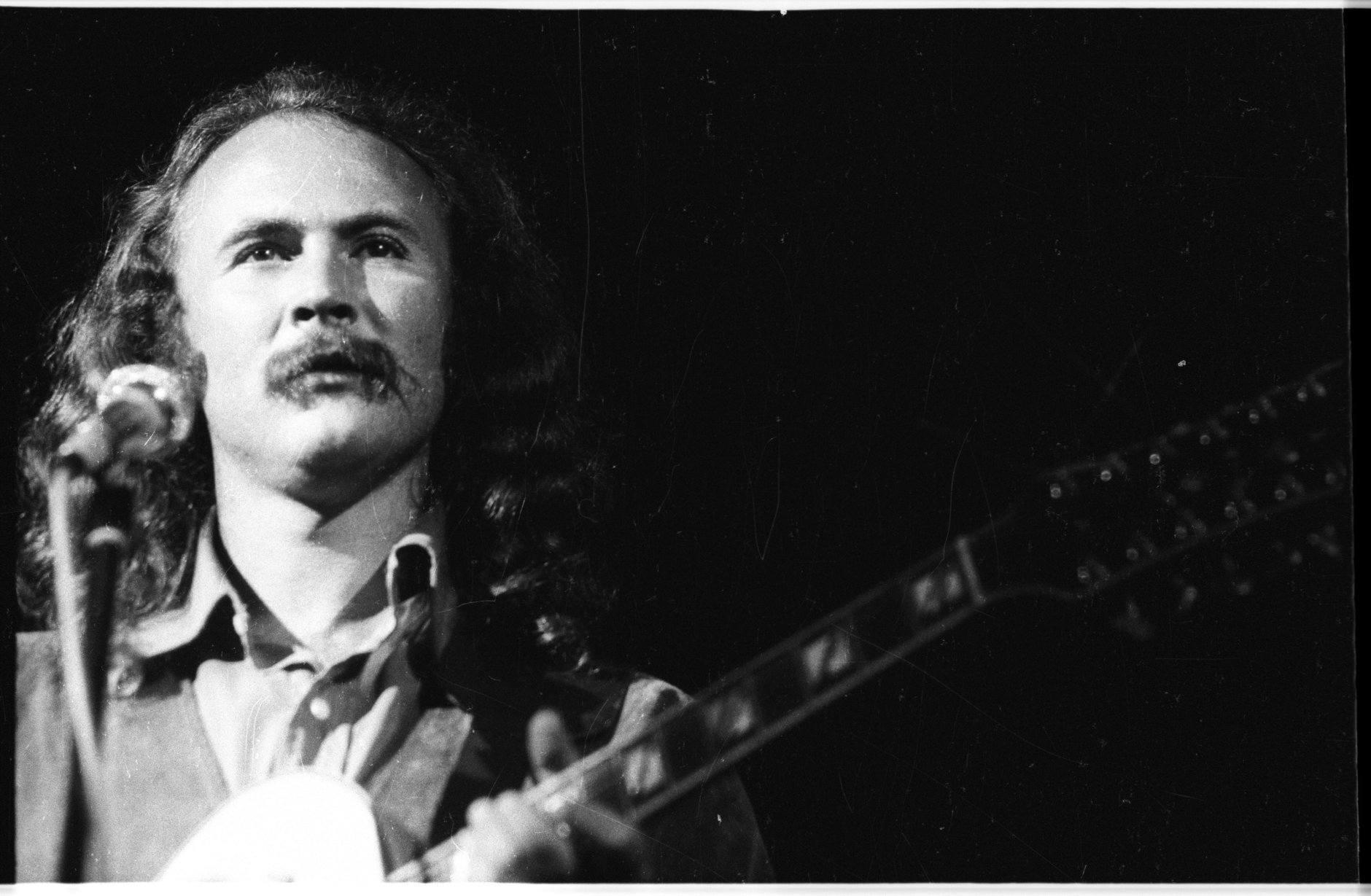 David Crosby at Woodstock