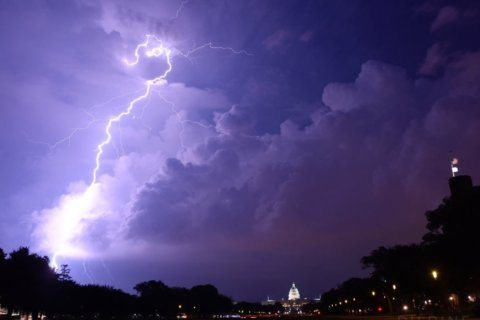 Afternoon storms slam DC area