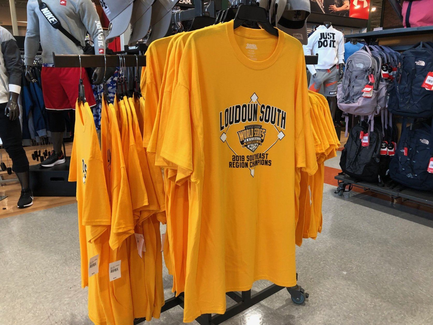 loudoun little league shirts