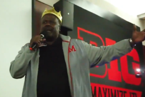WATCH: Fired-up Terps football coach leads team singalong