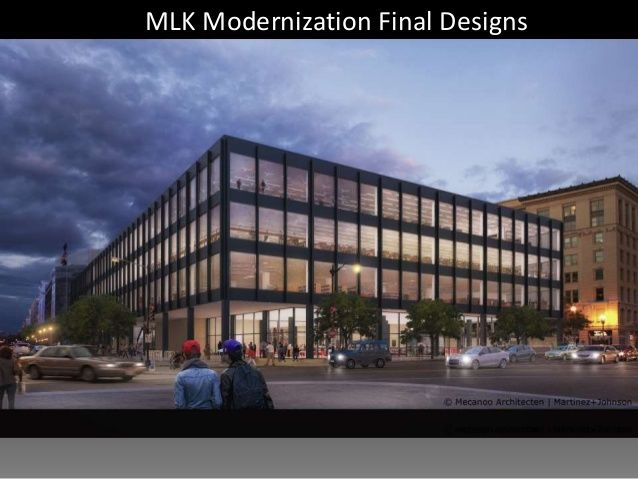 Dc S Martin Luther King Jr Memorial Library Is Getting A Major Makeover Wtop