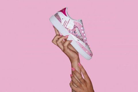 Reebok launches 'Crystal Coated' sneakers inspired by Cardi B's nails