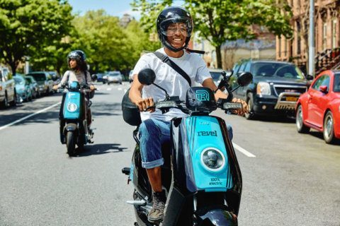 Shared mopeds come to DC (and they come with hairnets)