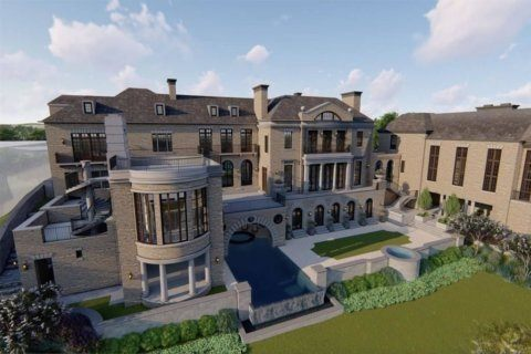 A McLean mansion has hit the market for $28.75 million — it's just not built yet
