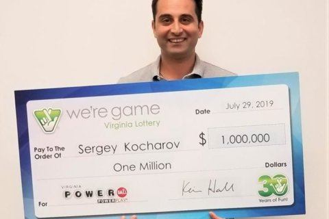 Annandale man cashes $1 million Powerball ticket