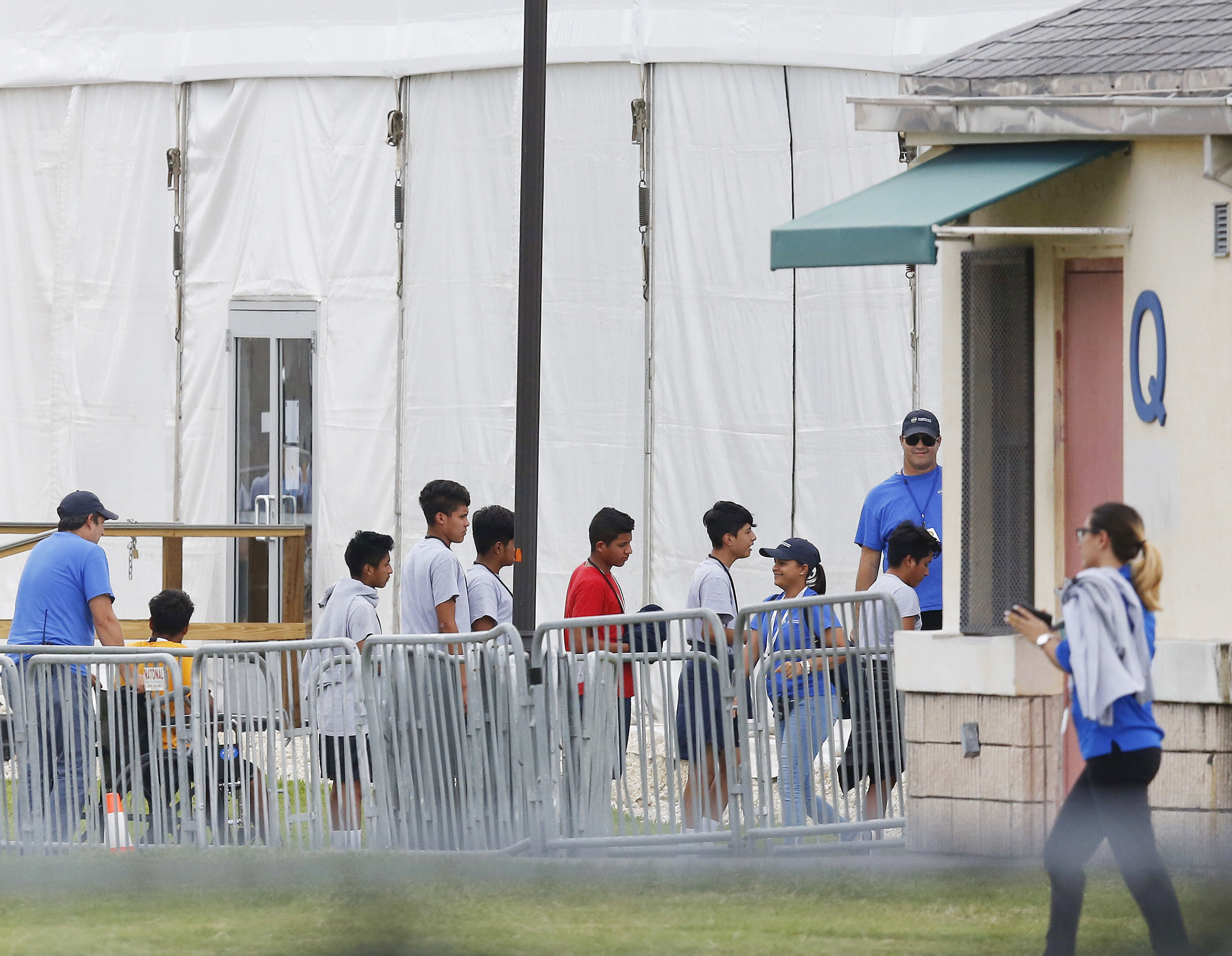 DC site eyed for temporary shelter to house unaccompanied migrant children