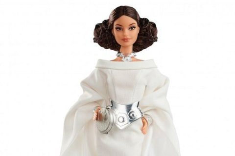 "New ""Star Wars""-themed Barbie dolls debut"