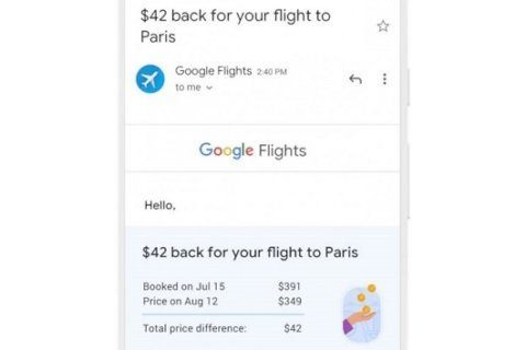 Google to give refunds for price drops on flights for a limited time
