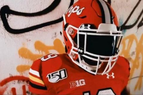 University of Maryland, Under Armour unveil 2019 homecoming uniform