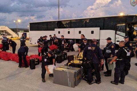 Fairfax County firefighters help hurricane-ravaged Bahamas