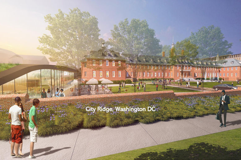 This is a rendering of the completed City Ridge project.