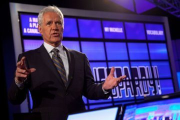 Alex Trebek is back on 'Jeopardy!'