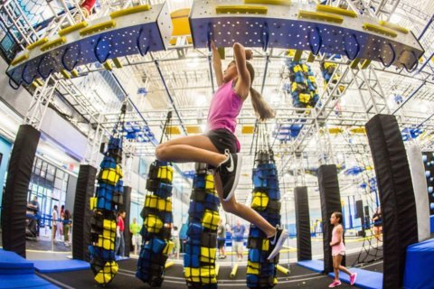 ZavaZone brings obstacle courses, trampolines to Potomac Mills