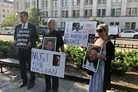 Nearly 2 years and no answers: Family of Bijan Ghaisar holds protest at US Interior Dept.