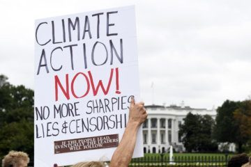 WATCH: Climate protest heats up DC