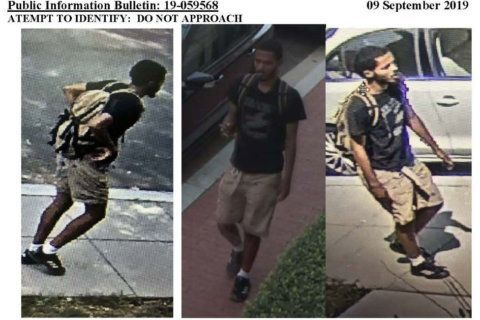 US Park Police trying to ID Rock Creek Park sexual assault suspect